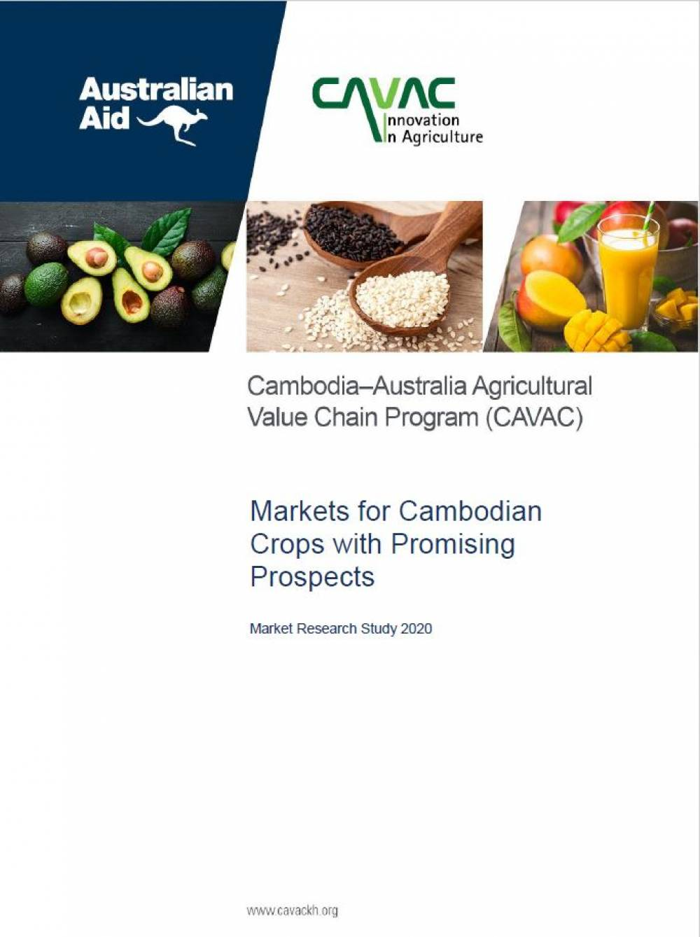Markets for Cambodian Crops with Promising Prospects