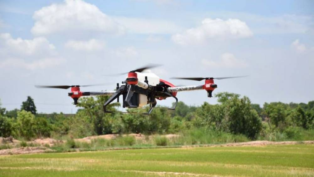 Red Sparrow drones take flight to aid farmers in fight against pests