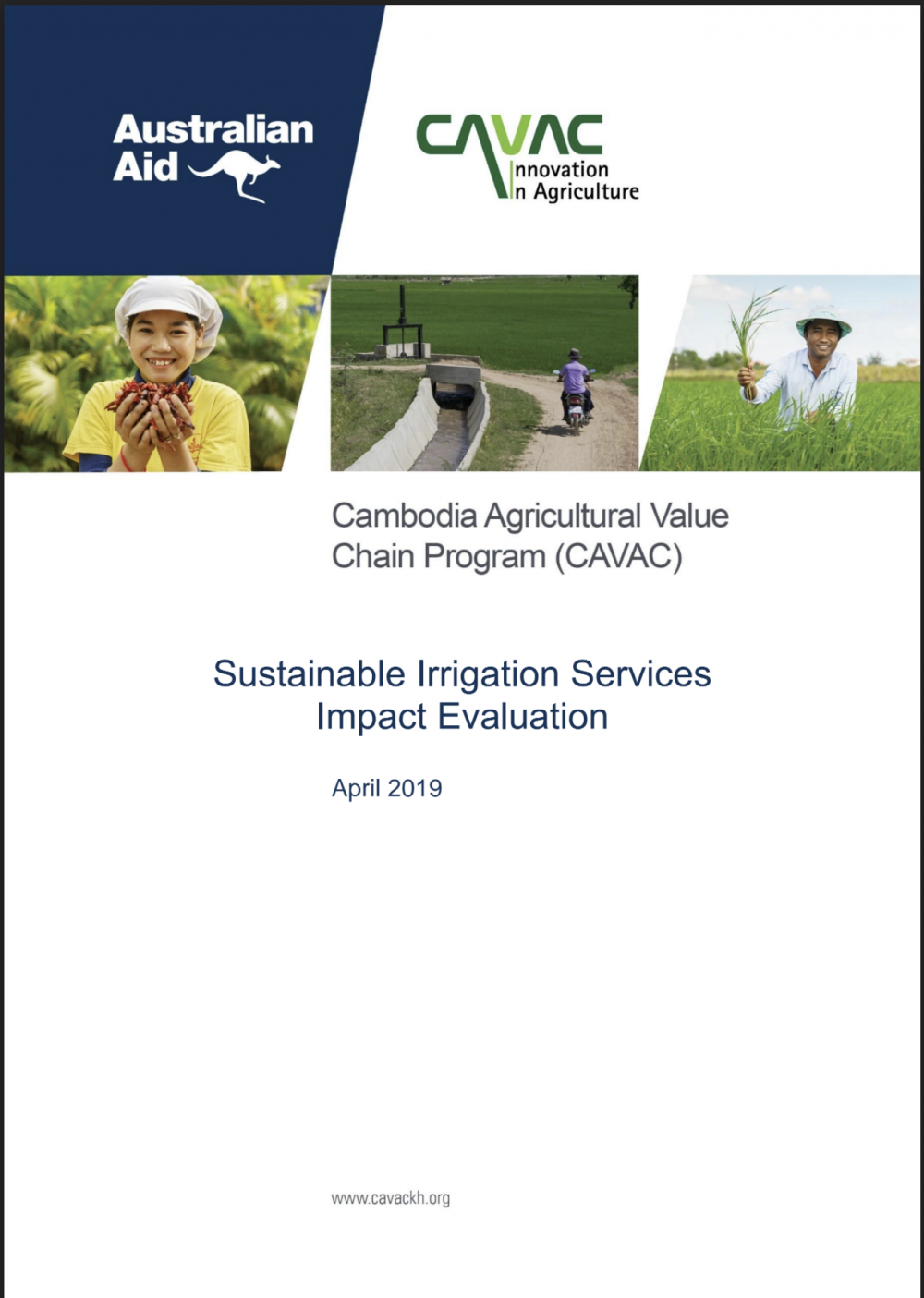 Sustainable Irrigation Services Impact Evaluation