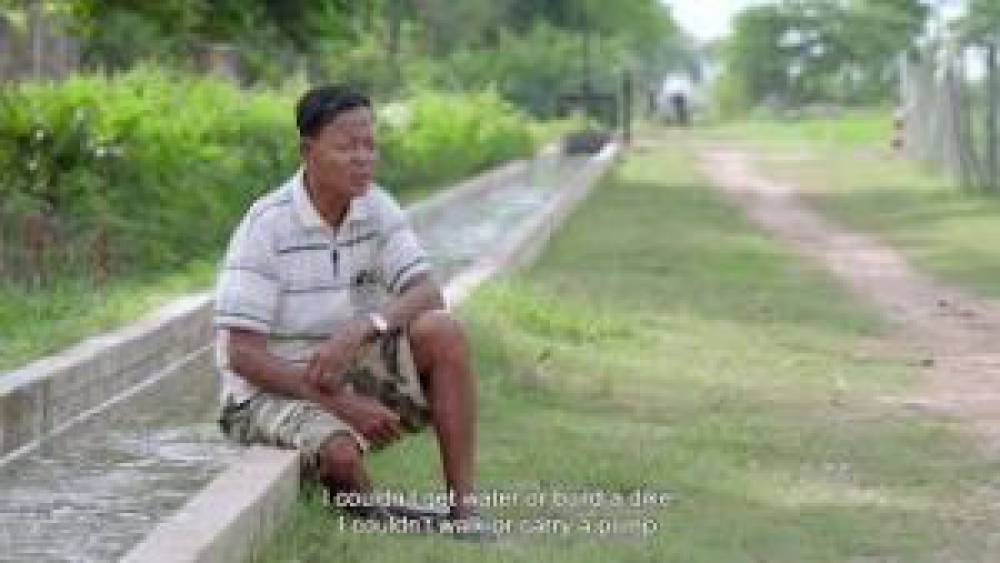 CAVAC Irrigation Schemes Make Farming Easier For People With Disabilities – Lor Saroeung Story