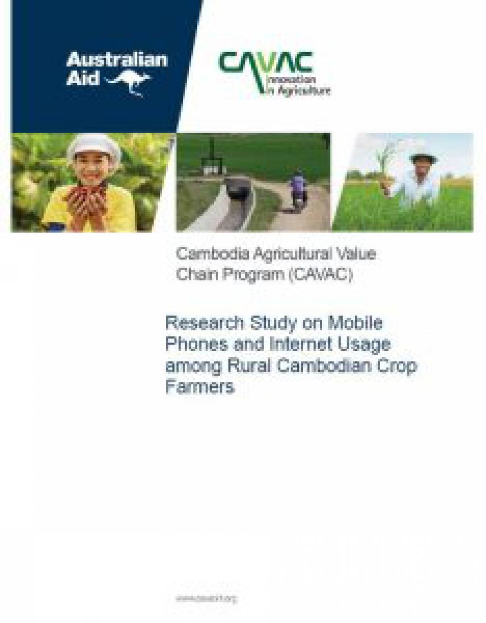 Research Study on Mobile Phones and Internet Usage among Rural Cambodian Crop Farmers